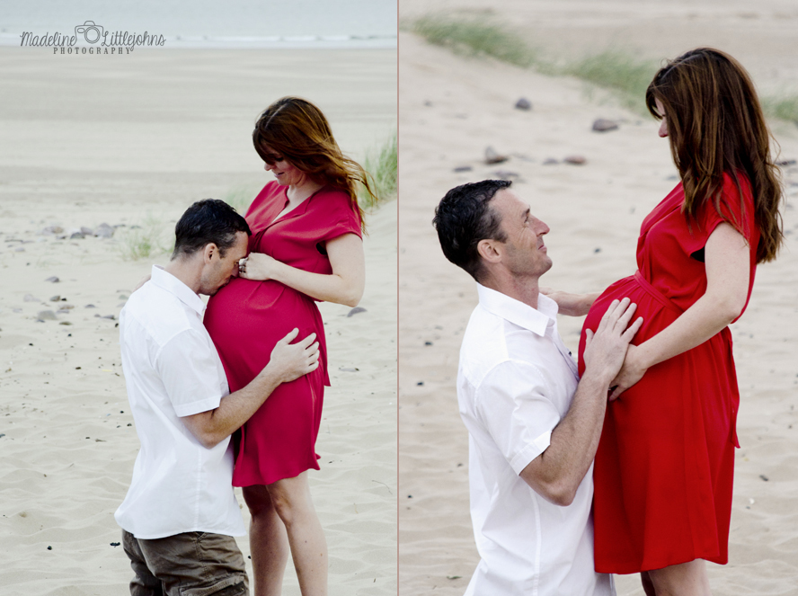 Maternity portrait photo Swansea