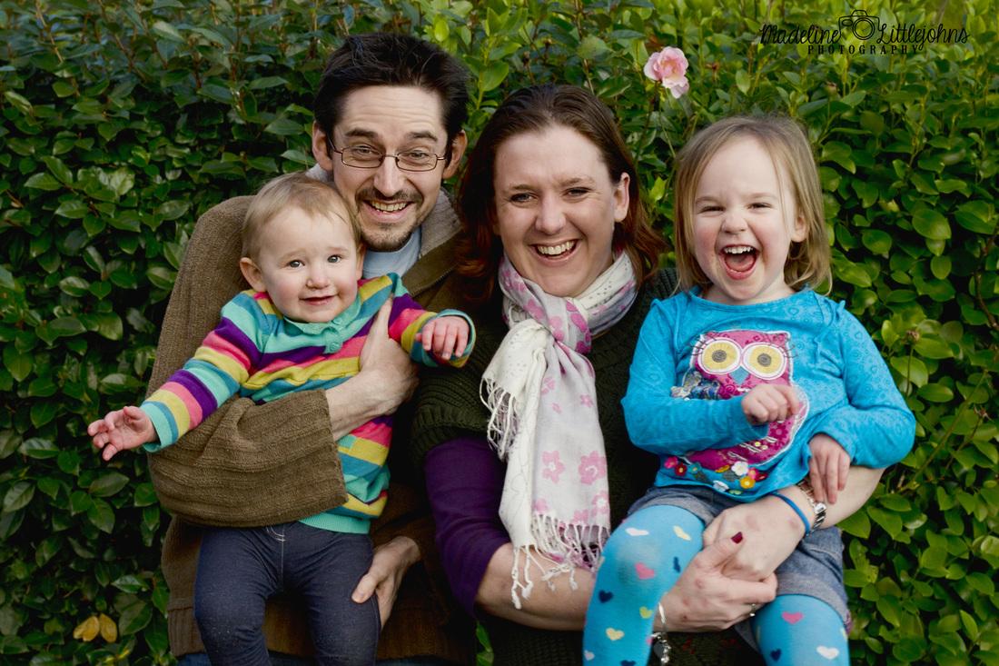Family portrait photo Swansea