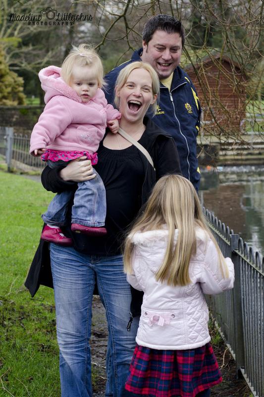 Family portrait photograph Swansea