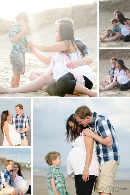 Swansea bay Beloved family maternity portrait photography