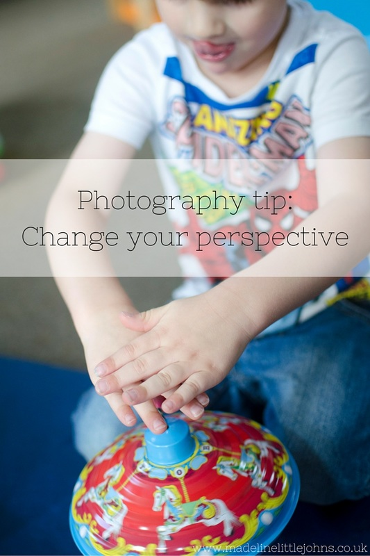 Photography tip - change your perspective