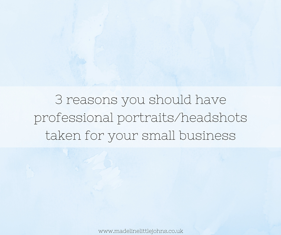 Reasons to have professional headshots taken