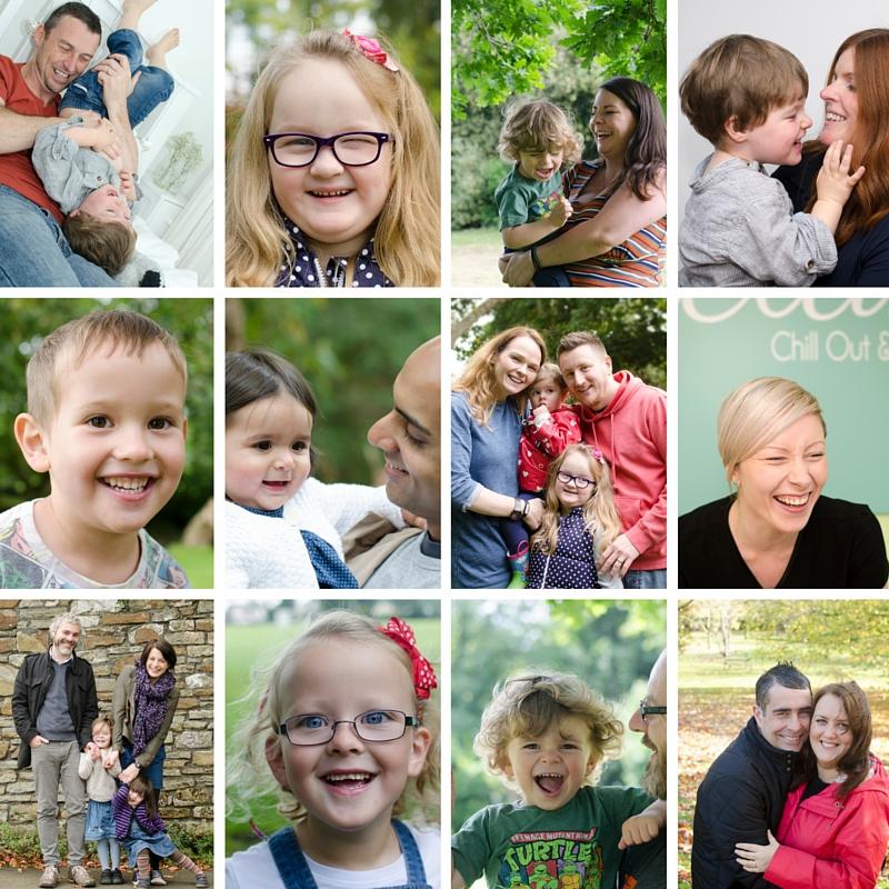 Swansea family portrait photographer happy photos
