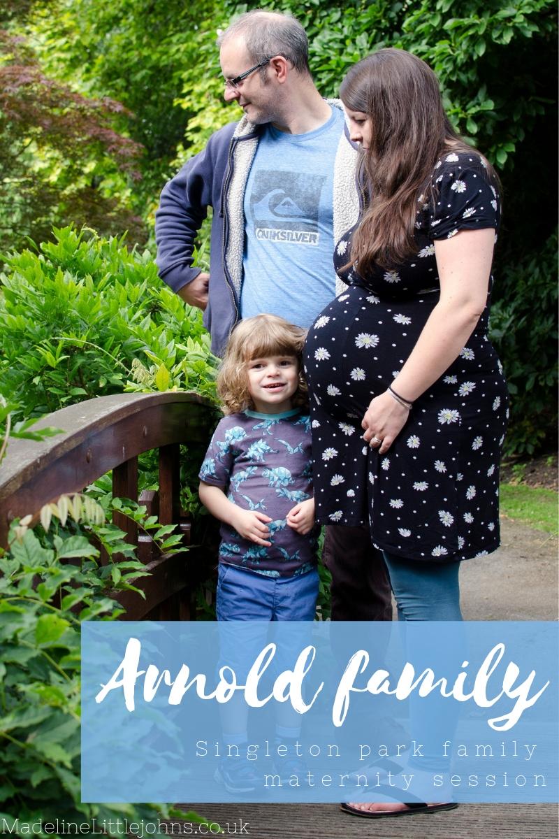 Arnold family -Singleton park family maternity session