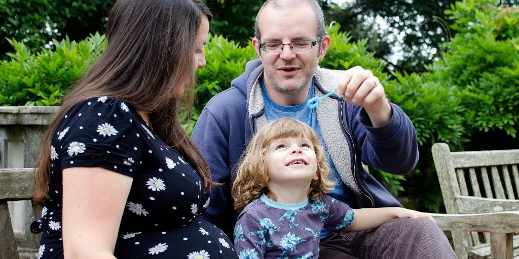 Swansea Singleton park family maternity photo session